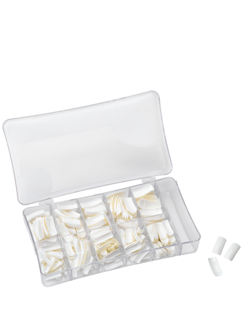 קופסא 500 ציפורניים פרנץ לבן.png